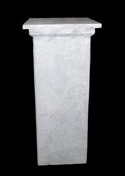 Grey Square Pedestals