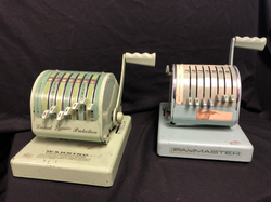 Vintage Check Embossing Machines
