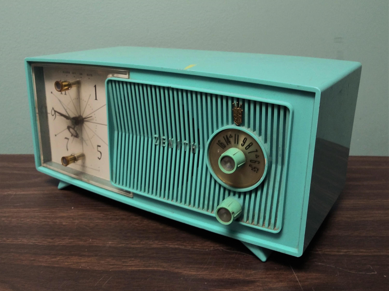 Zenith Vintage Clock Radio 50s 60s