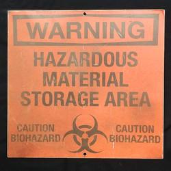 Sign - Warning Hazardous
