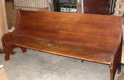 Wood Shaker Style Pews