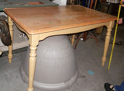 Small Kitchen Table - Blonde Wood