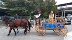 Primitive Wagon - Hay Wagon