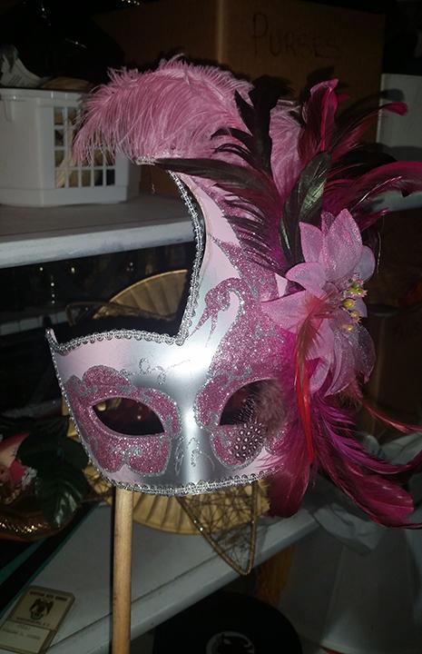 Pink Half Mask