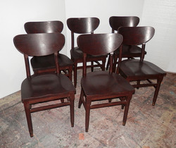 Wood Diner Restaurant Chairs