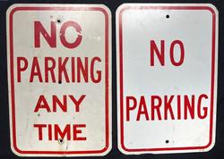 Sign - No Parking