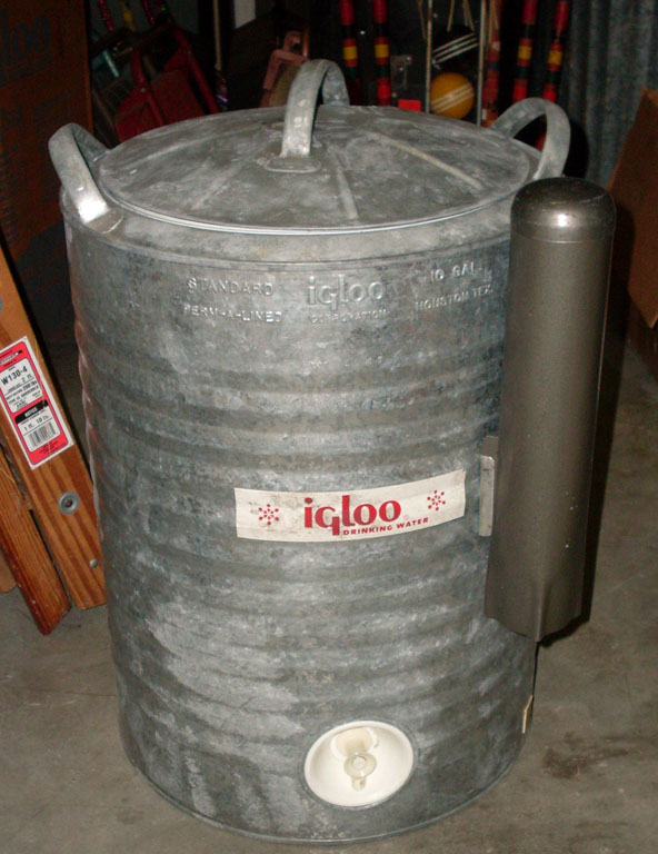 Igloo Metal Water Cooler - 10 gal