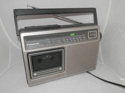 Panasonic Cassette Recorder AM FM Radio