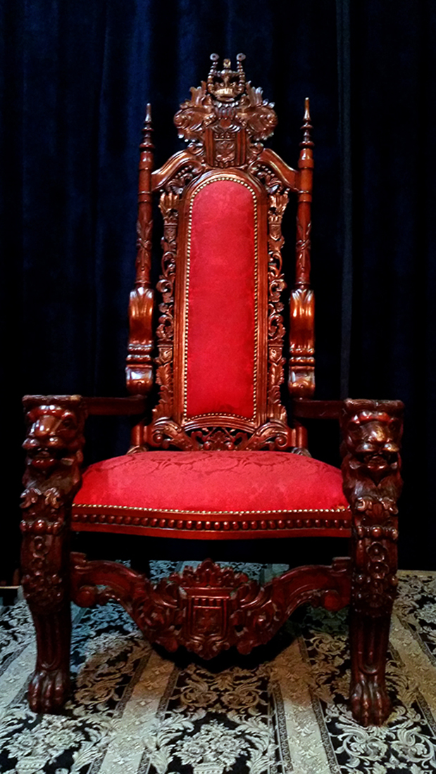 XXL Matched Nordic Throne Pair