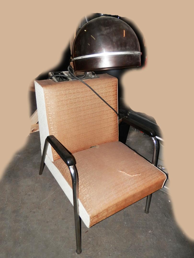 Hair Drying Chairs tan