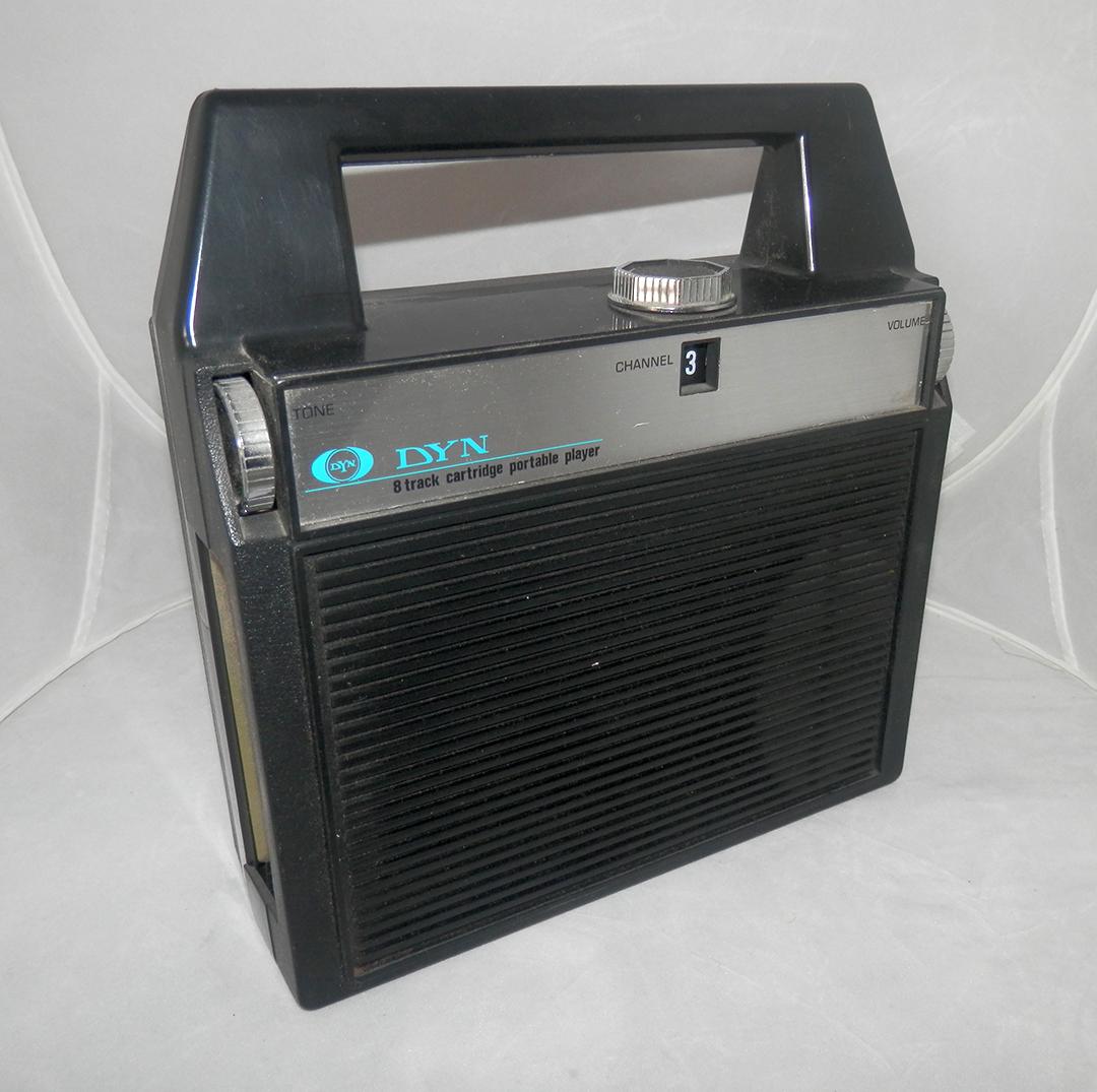 DYN 8 Track Player Portable Radio