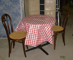 Cafe Wrought Iron Tables
