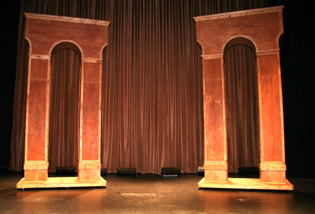 Tall Wood Arches