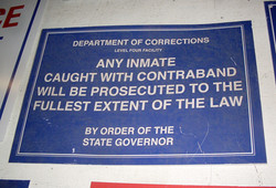 Inmate Contraband
