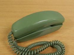 Trimline Phone olive green