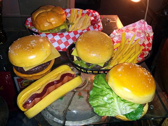Fake Food - Diner - Burgers Fries Hotdog