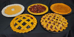 Pies - assorted