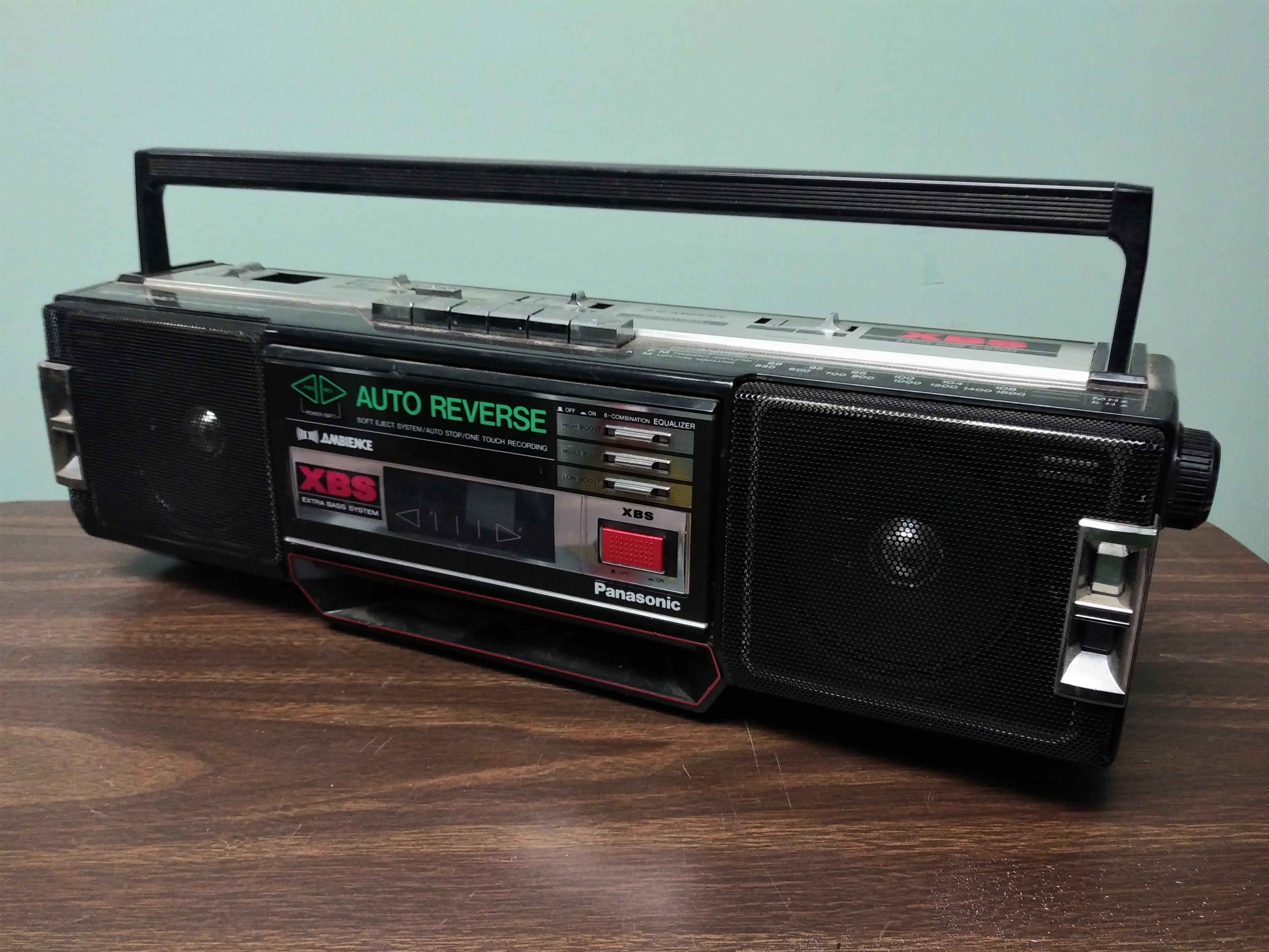 Panasonic XBS Boombox