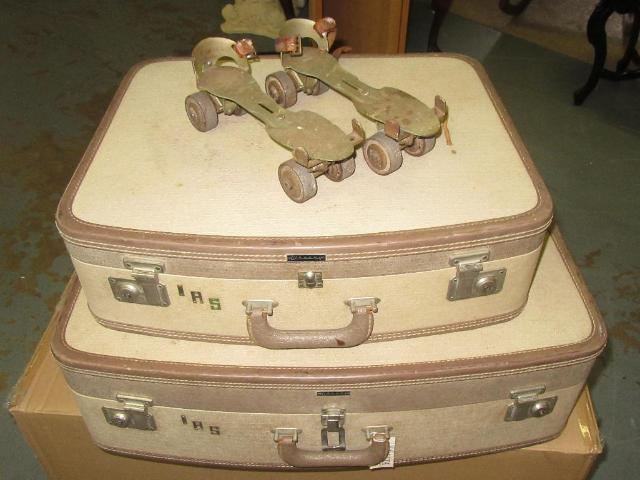 Luggage European vintage