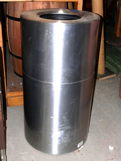 Trash Can - stainless tube style_md