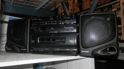 Sharp GX-CD30 Portable CD Stereo