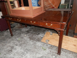 Library Table Desk with drawers