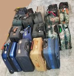 Luggage Carry On size Nov 2018 20 pcs