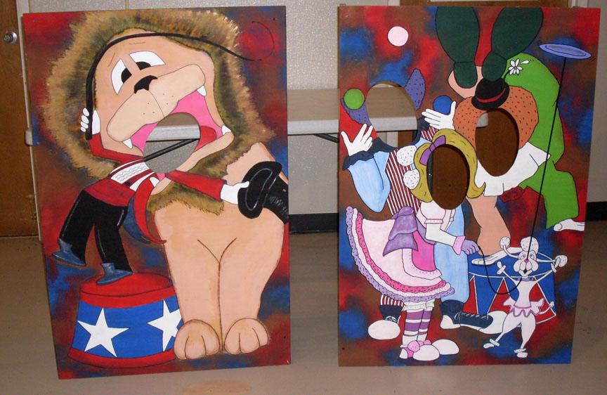 Circus Photo Op Kids