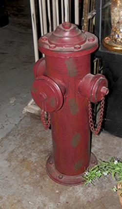 Fire Hydrant fake 24inh x 12inw_gal