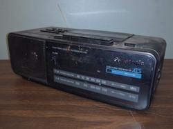 Panasonic Digital Cassette Recorder Clock Radio 1990s