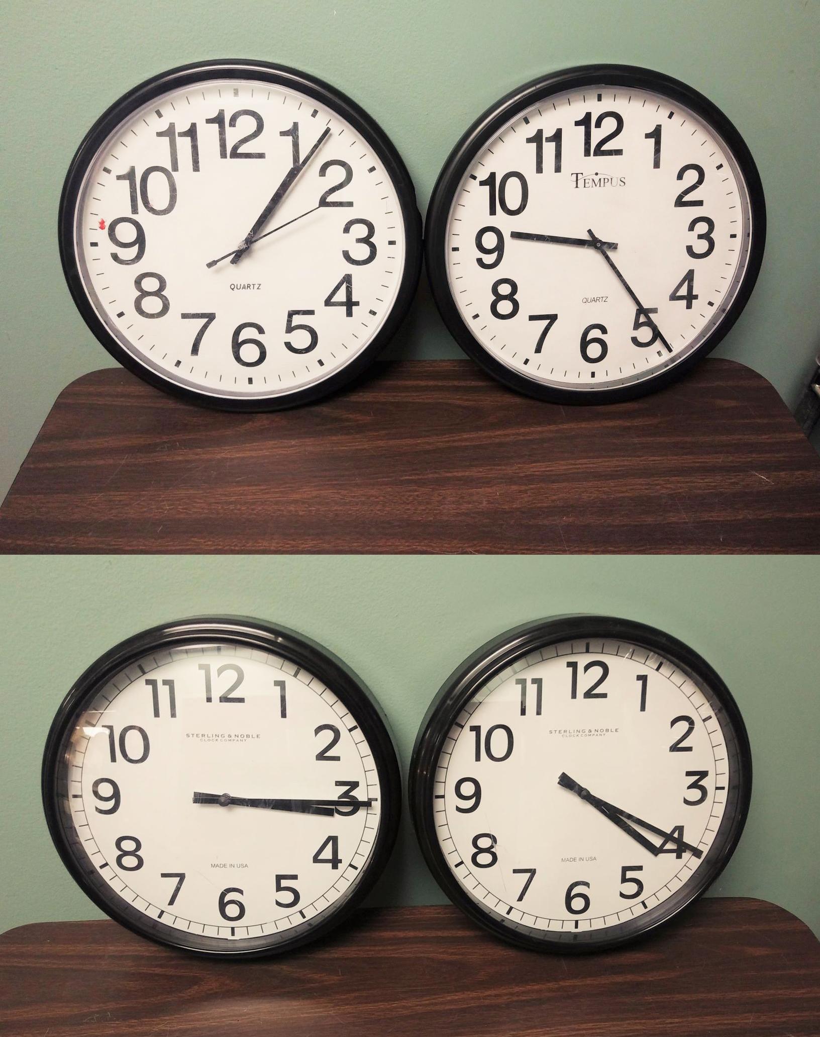 Wall Clock Pairs