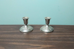 Small Candle Holder Pair