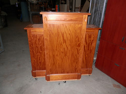 Pulpit Lectern with Side Columns