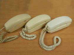 Trimline Phones white beige qty 3