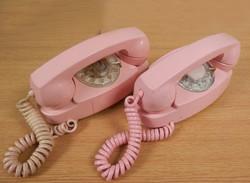 Princess Phones pink qty2