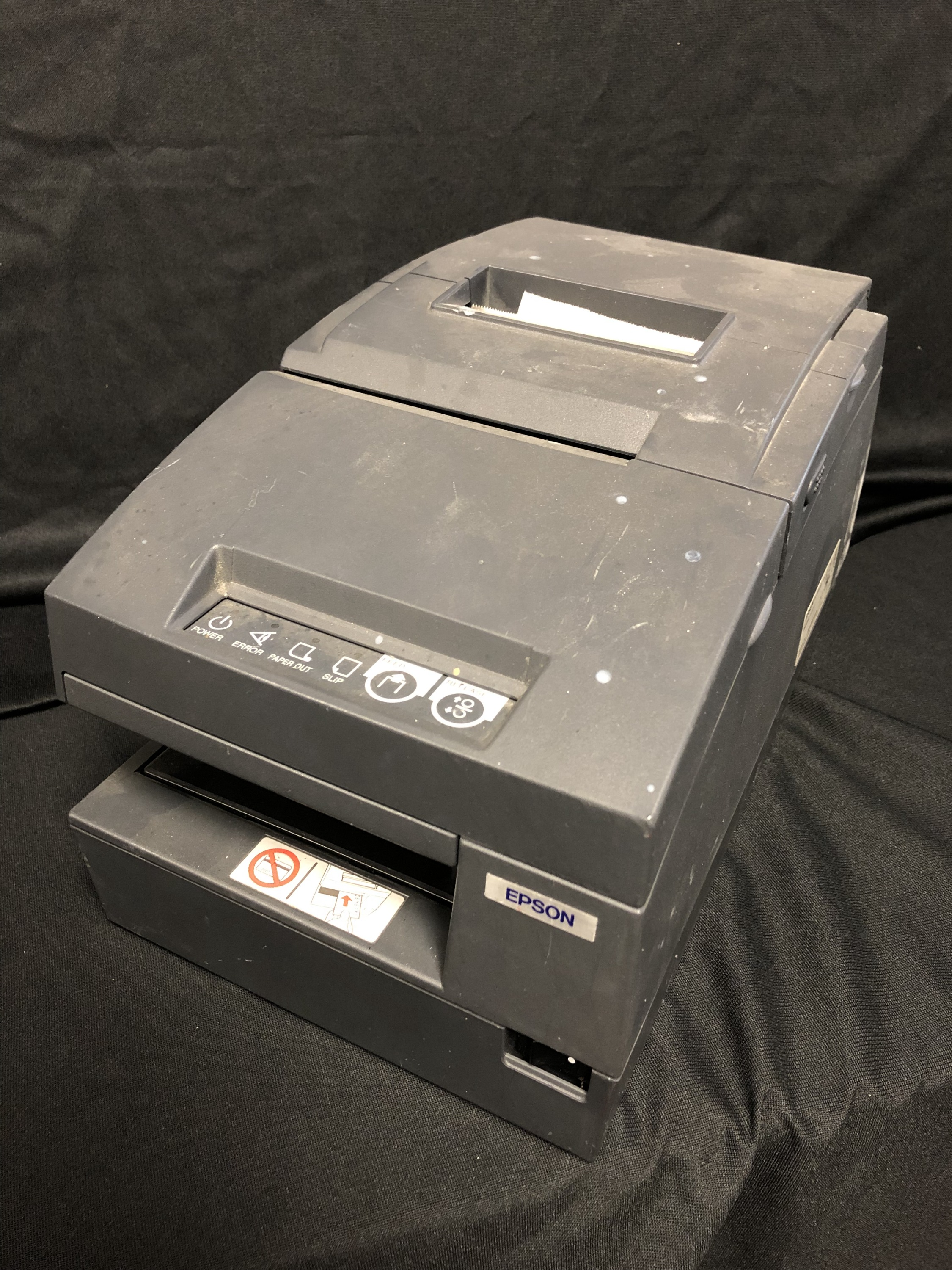 Receipt Printer Check Scanner
