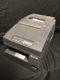 Receipt Printer Check Scanner