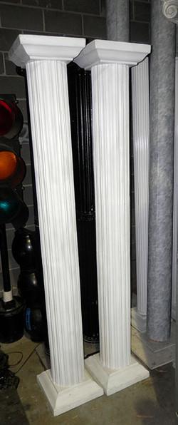 Plastic Doric Columns
