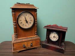 Wood Mantel Clocks
