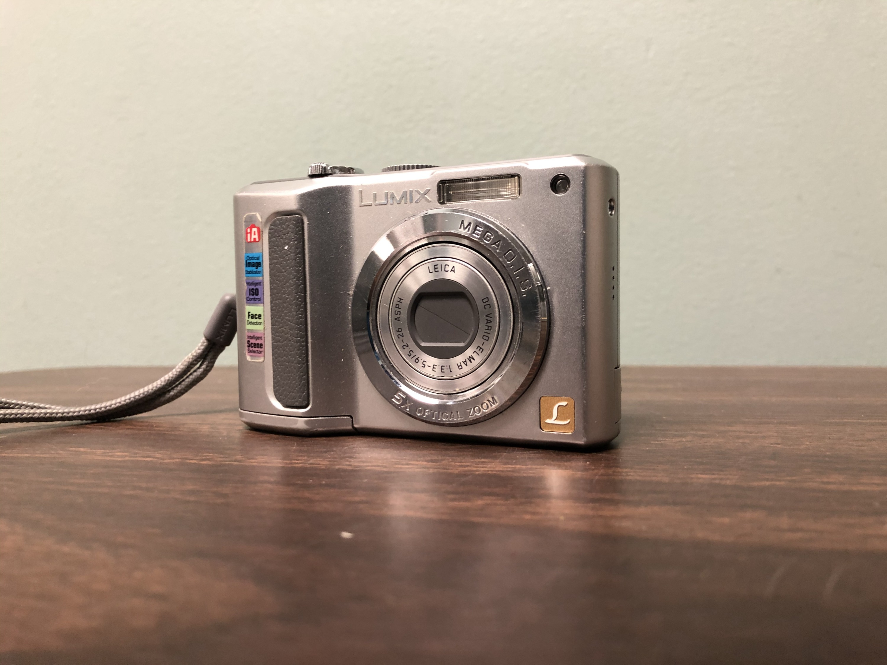 Panasonic Lumix Digital Camera (non functional)