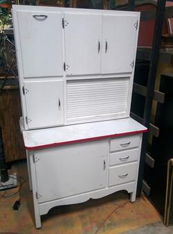 Hoosier Cabinet white