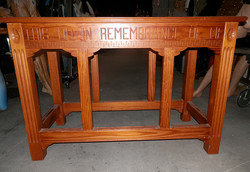 Altar Table (shorter)