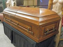 Modern Wood Coffin