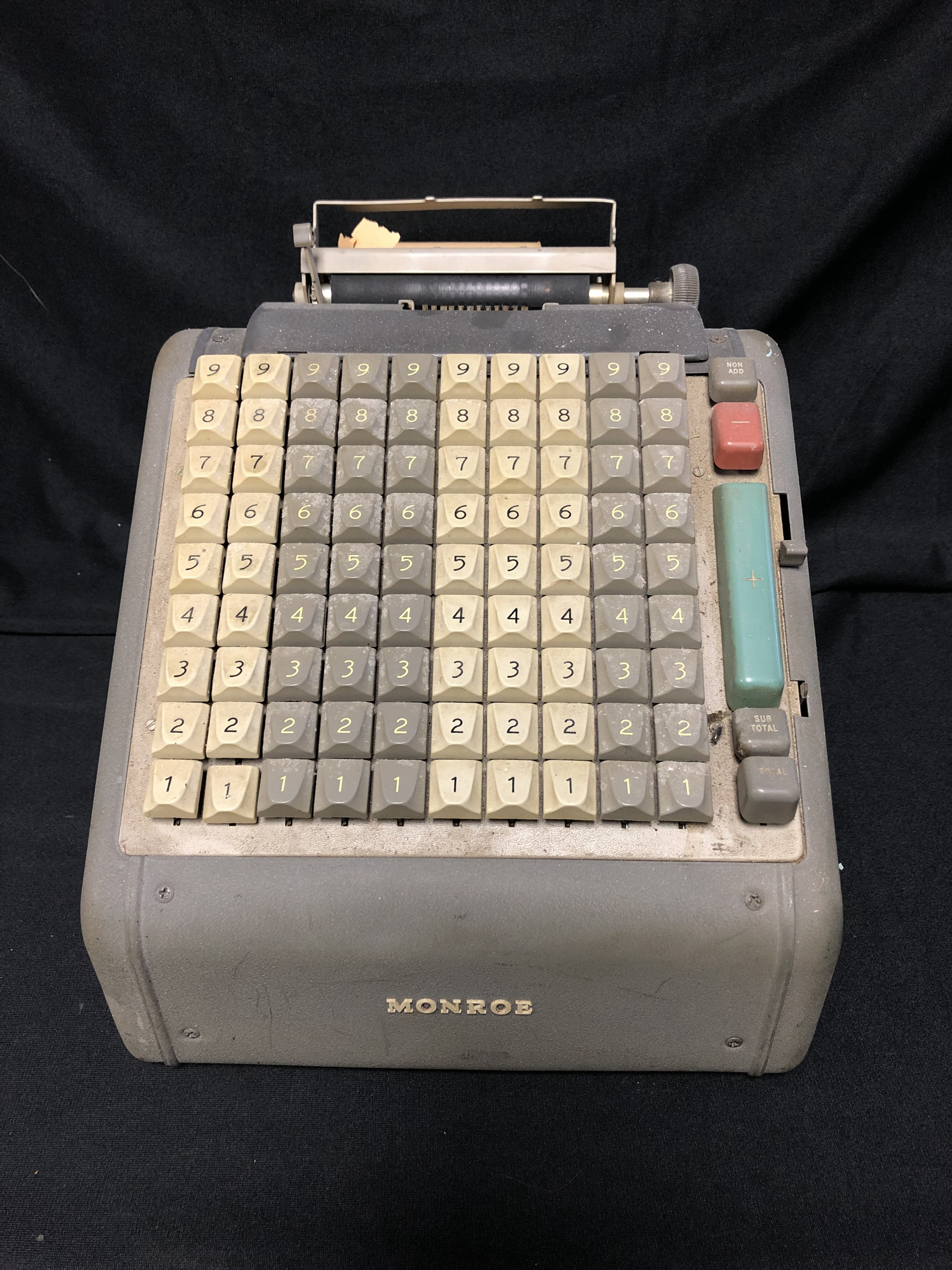 Monroe Adding Machine