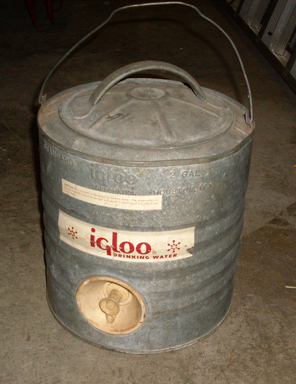 Igloo Metal Water Cooler - 2 gal