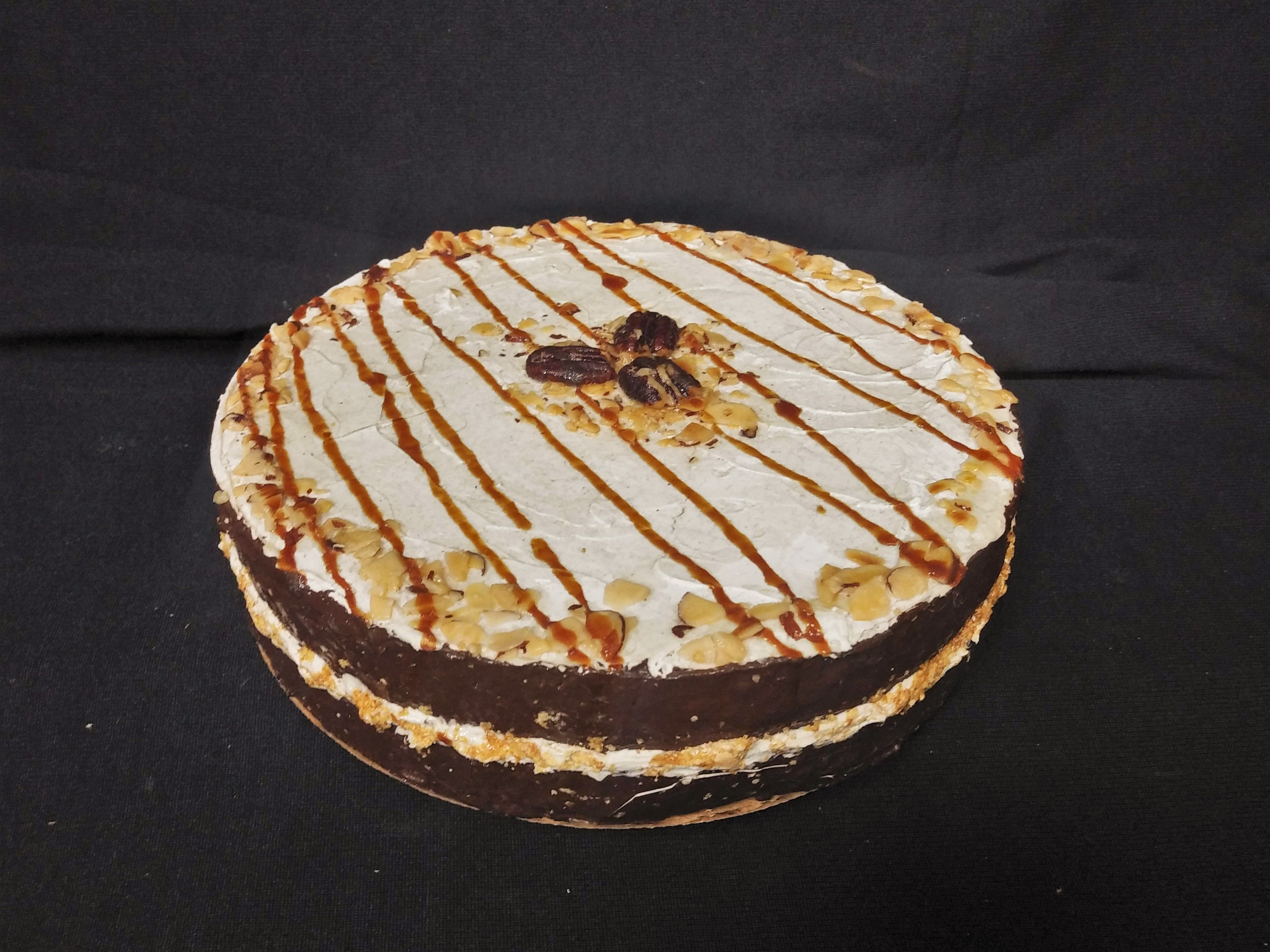 Chocolate Cake with Pecans