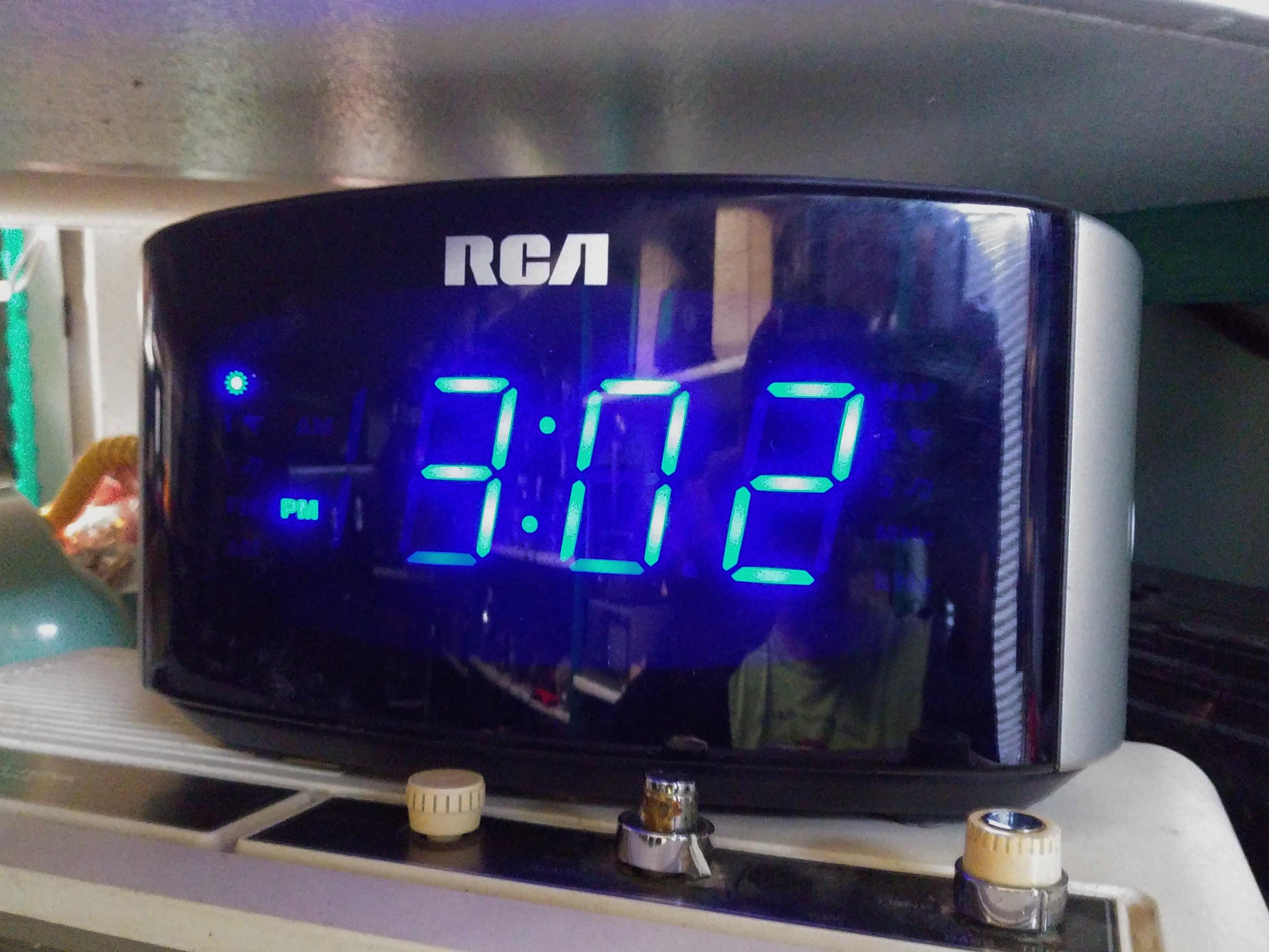 RCA Digital Alarm Clock