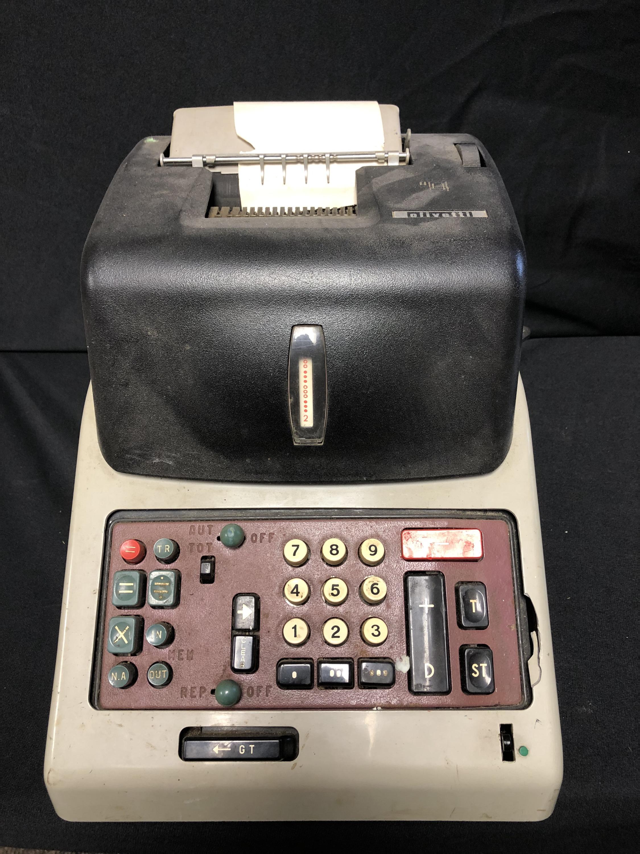 Olivetti Adding Machine