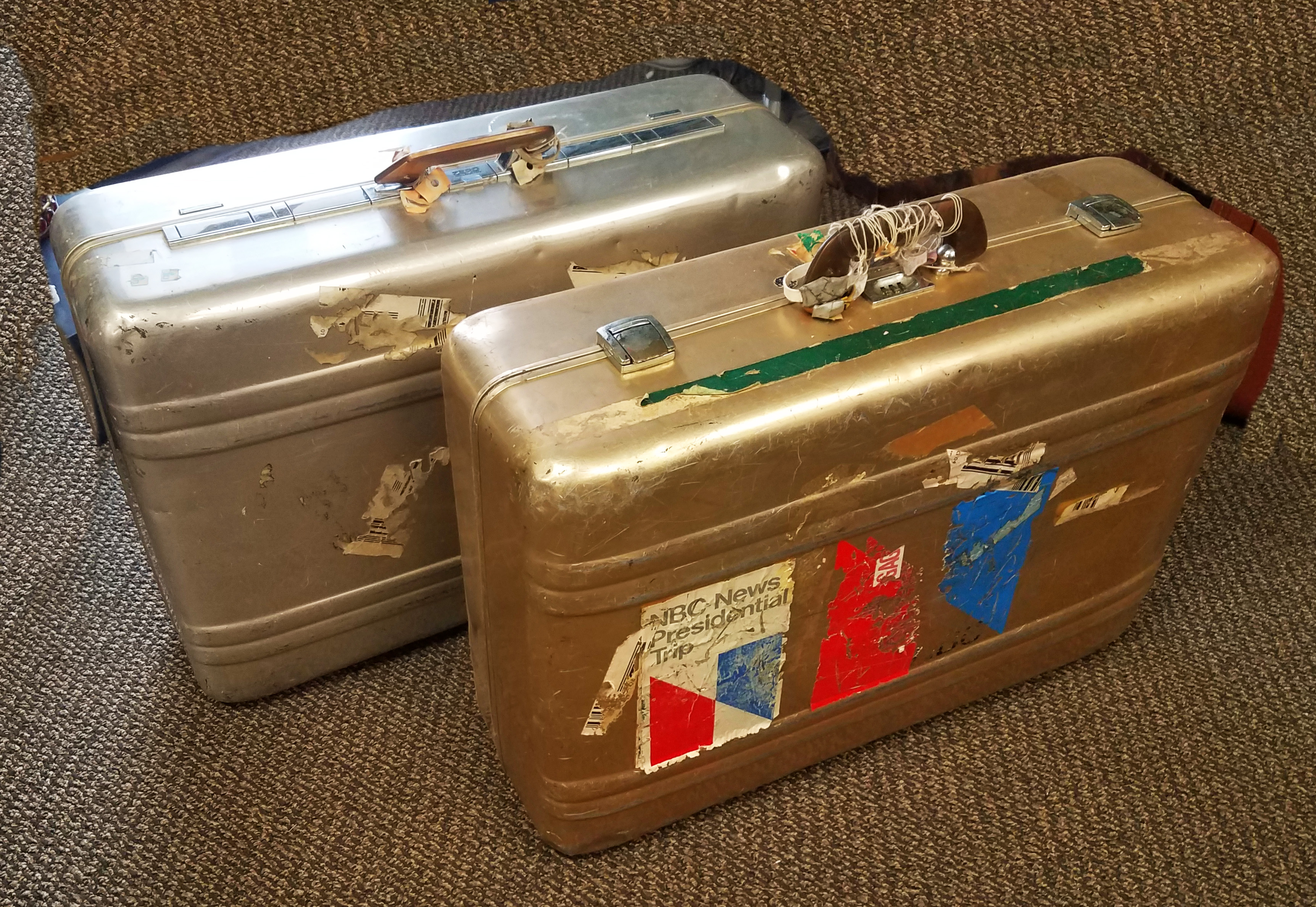 Luggage Vintage Prof Equipment