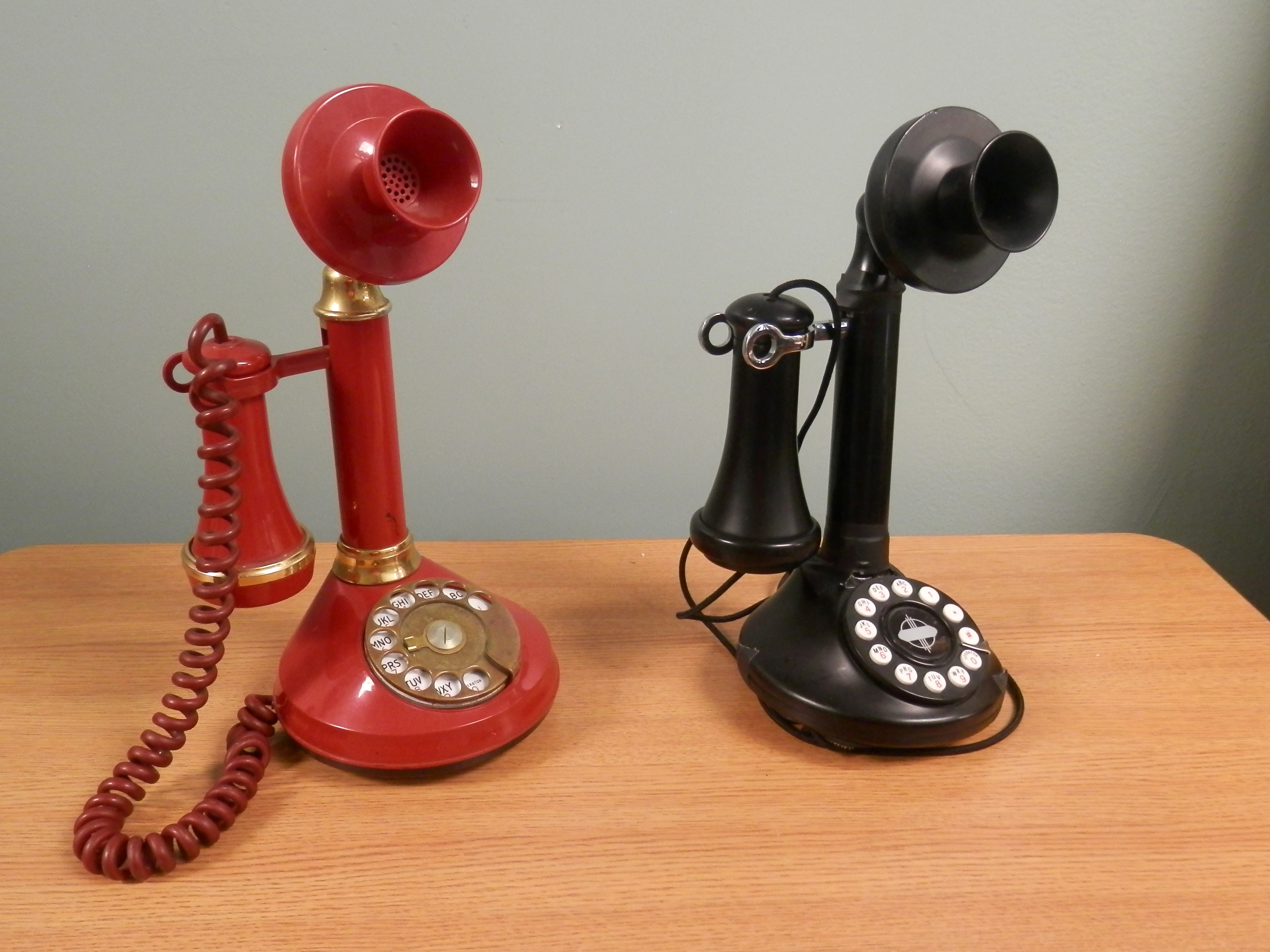Candlestick Phones